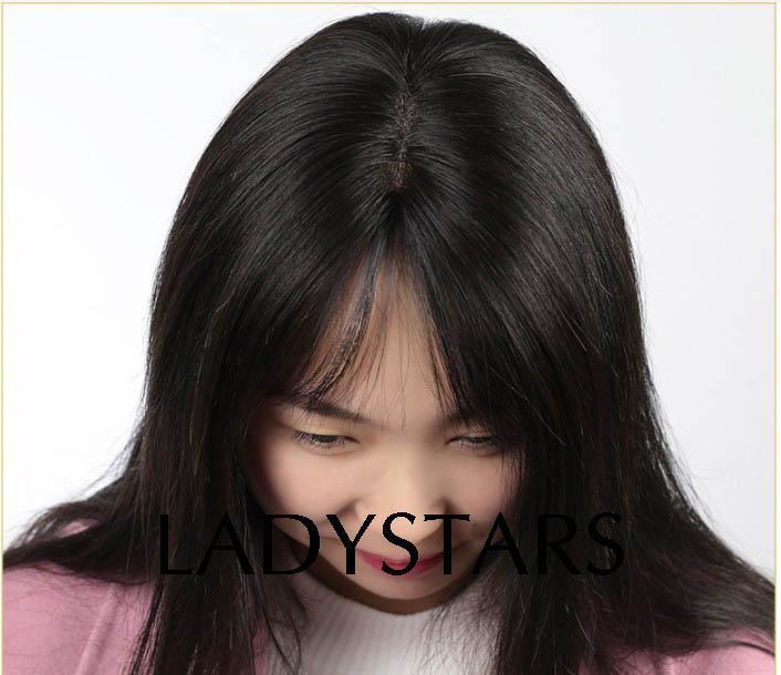 Tóc mái hói che rụng tóc cho nữ