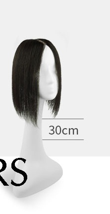 Tóc mái hói nữ bằng tóc thật dáng ngắn