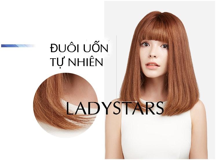 Tóc thật nguyên đầu ngang vai mái ngố – Sự biến hóa thông minh cho diện mạo của bạn gái
