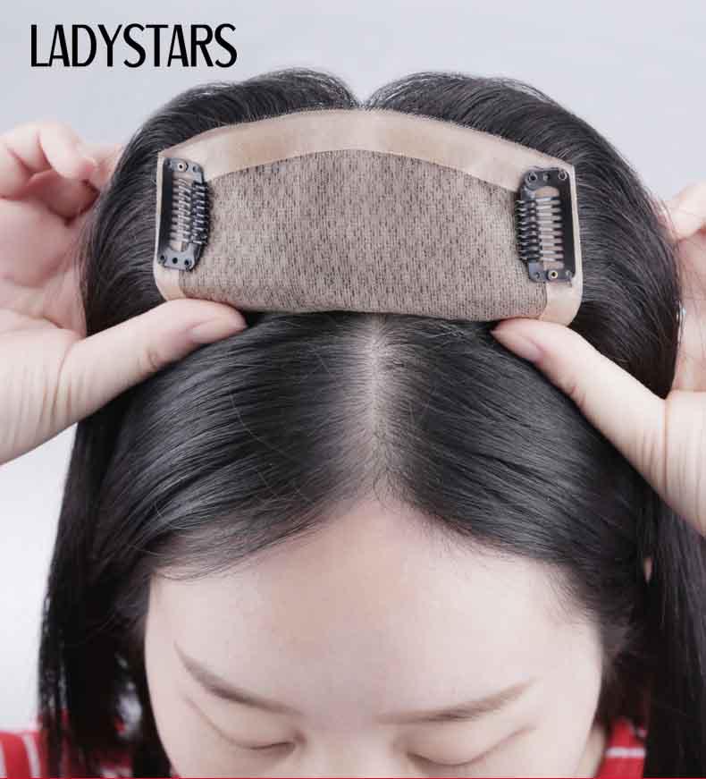 Tóc giả dán vào da đầu nữ