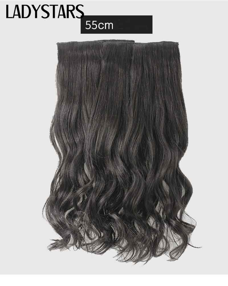 Ngoài ra, Tóc kẹp phím được làm xoăn với công nghệ tiên tiện giúp giử cho độ xoăn được lâu bền va uốn lượn. Phần điểm nhấn xoăn bồng bền của tóc giúp phái đẹp trông tinh tế và nhẹ nhàng hơn. Tóc kẹp sau khi được gắn cố định sẽ bám chặt và ẩn mình sau tóc thật của người dùng mà không lo bị lộ, không tốn nhiều thời gian tháo hoặc gắn vào như khu nối tóc ở Salon, người dùng chỉ cần chi một số tiền nhất định và sau đó sở hửu riêng cho mình một mái tóc thật xoăn dài, tiện lợi có thể mang theo đến bất kì nơi đâu, tiết kiệm chi phí và thời gian.